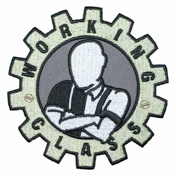 Working Class - Zahnrad, Aufnäher