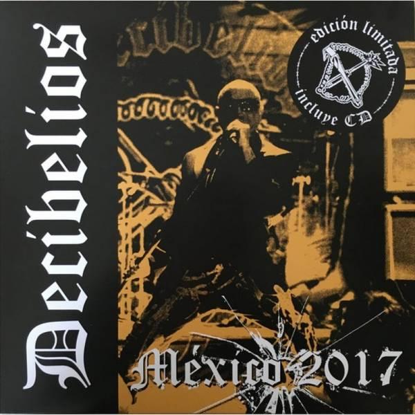 Decibelios - México 2017, LP + CD lim. 300 schwarz