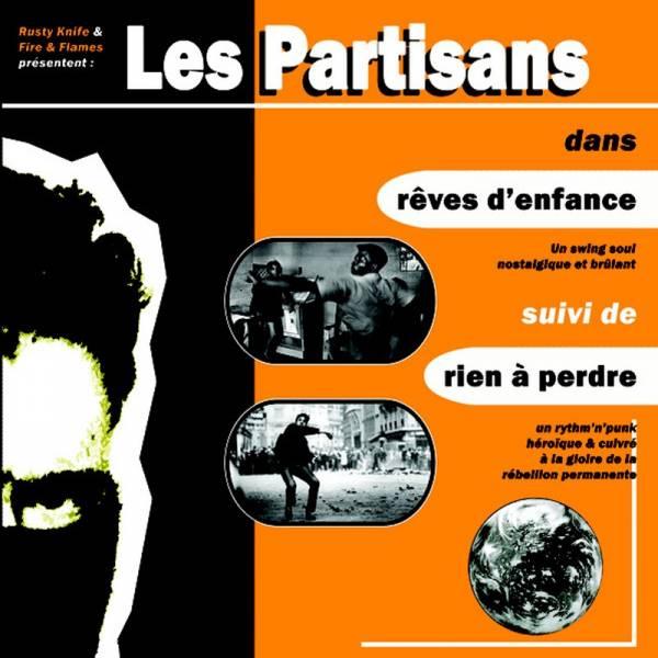 """Les Partisans – Reves d'enfance, 7"""" lim. 500 verschiedene Farben"""