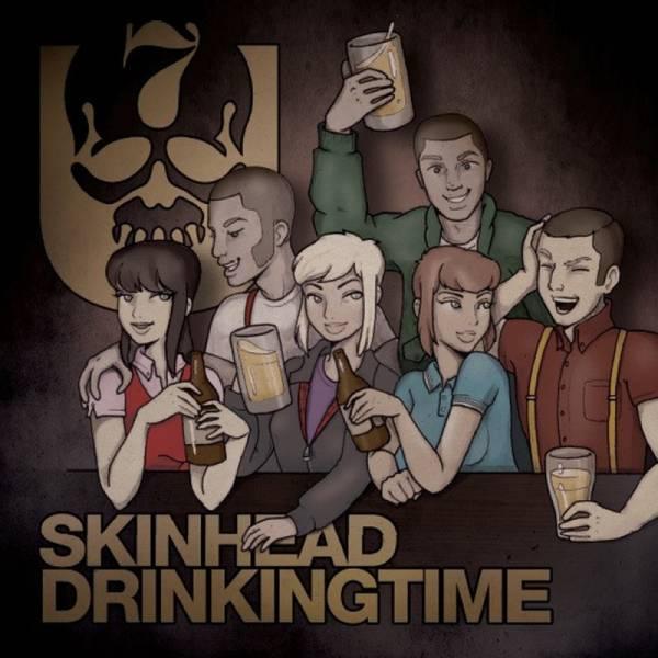 7er Jungs – Skinhead Drinking Time, 7'' verschiedene Farben