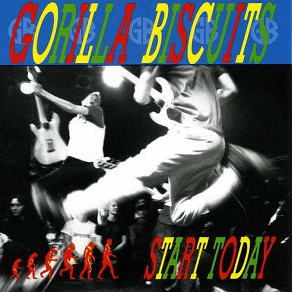 Gorilla Biscuits - Start Today, LP schwarz