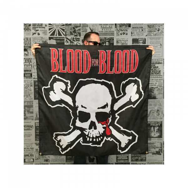 Blood for Blood Banner lim. 1000