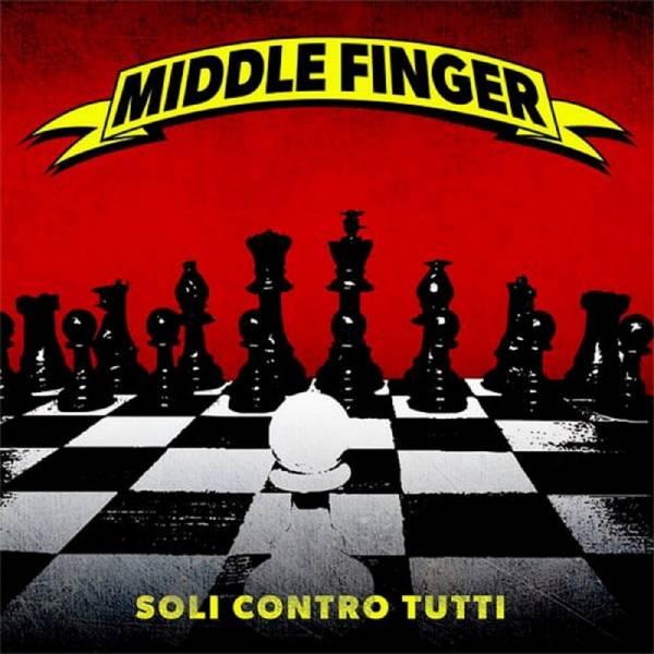 Middle Finger - Soli contro tutti, CD