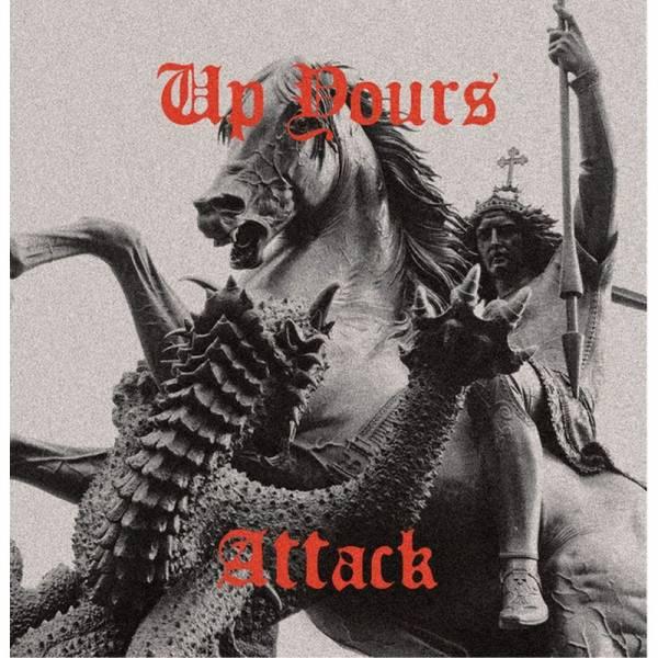 Up Yours - Attack, LP lim. 250 schwarz