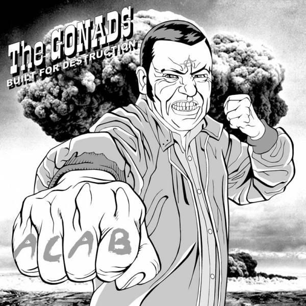 Gonads, the - Built for destruction, LP schwarz