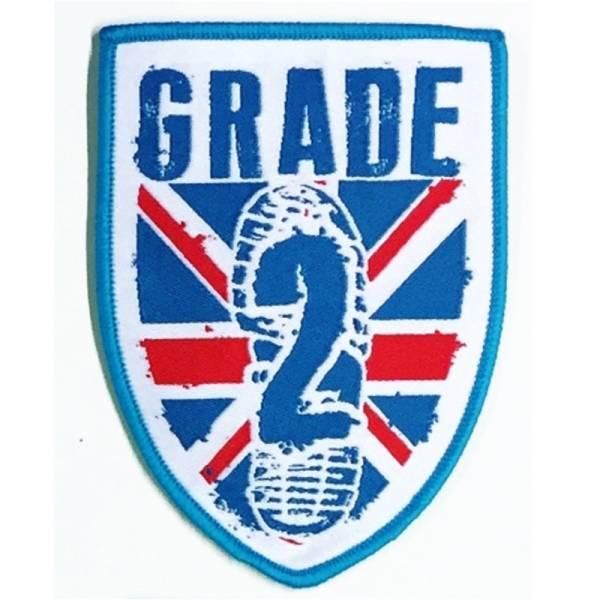 Grade 2 - Logo, Aufnäher