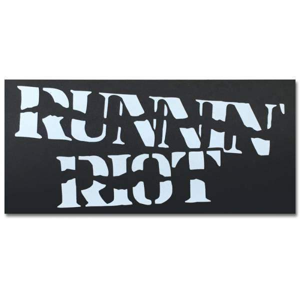 Runnin Riot - Logo, Aufkleber