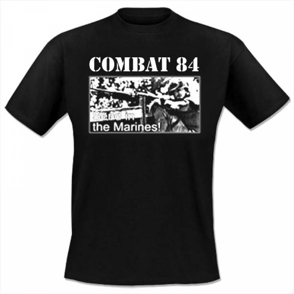 Combat 84 - Send in the marines, T-Shirt schwarz