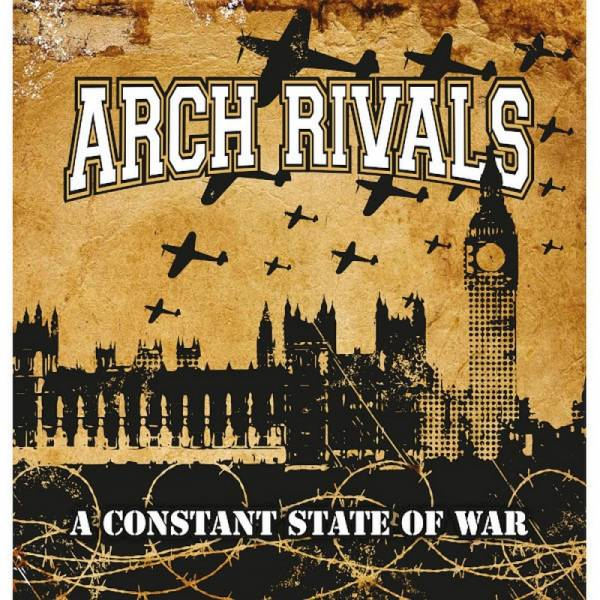 Arch Rivals - A Constant State Of War, CD Digipack