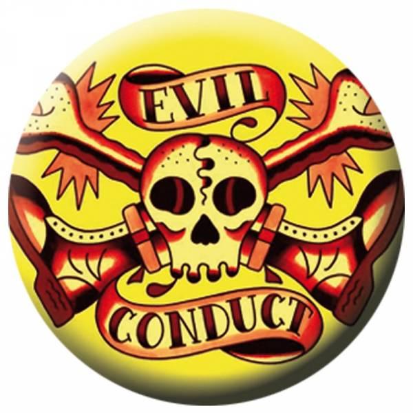 Evil Conduct - Bones & Boots, Button B044
