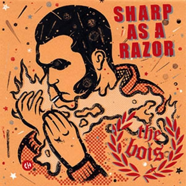 """Bois, the - Sharp as a razor, 7"""" schwarz lim. 300"""