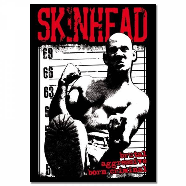 Skinhead - Born Criminal, Poster A2
