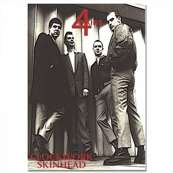 4 Skins - Clockwork Skinhead, Poster A3