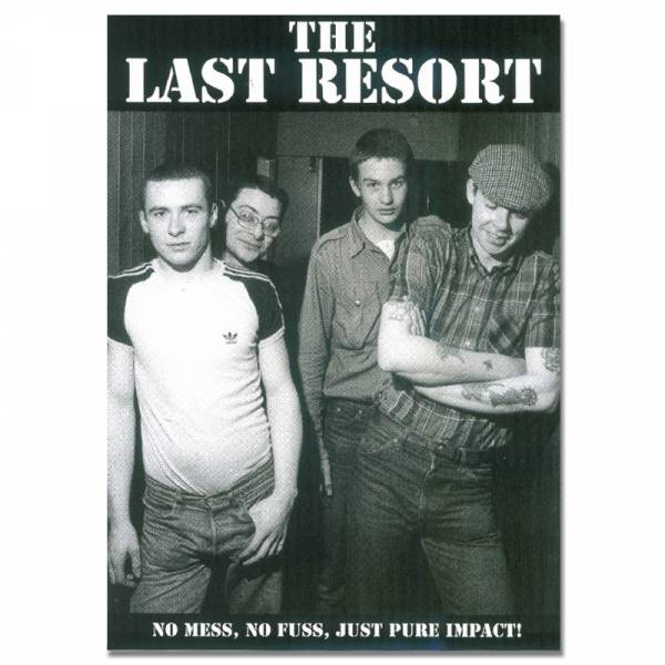 Last Resort, the - Band, Poster A3