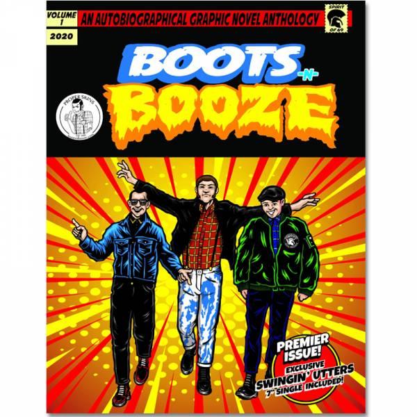"""Boots n Booze - Comic + 7"""" lim. verschiedene Farben, Bootsnbooze"""