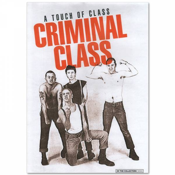 Criminal Class - A touch of class, Poster A3