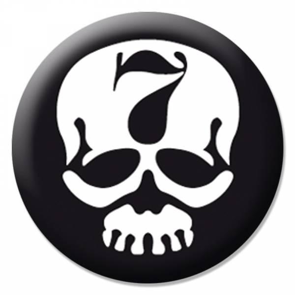 7er Jungs - Skull, Button B004