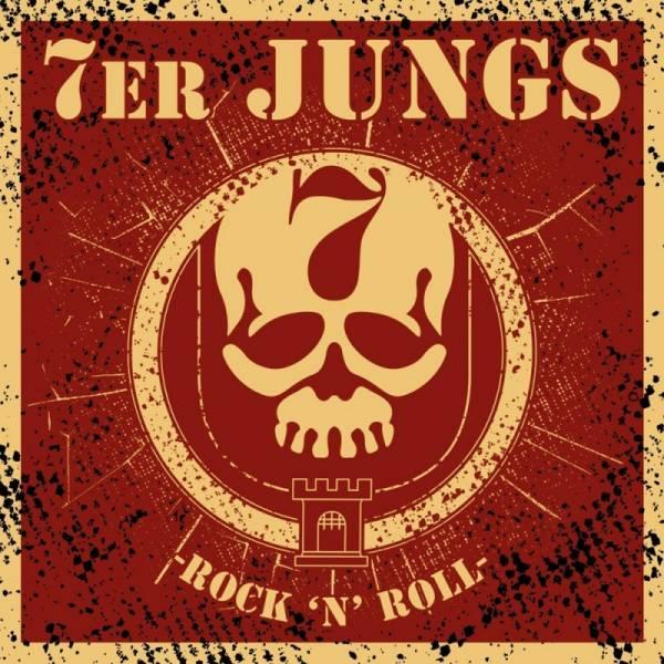 7er Jungs - Rock 'n' Roll, Aufkleber