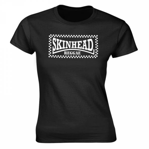 Skinhead Reggae, Girlie-Shirt Rundhals oder V-Ausschnitt
