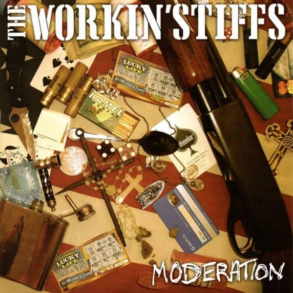 """Workin' Stiffs, The - Moderation, 7"""" lim. 550 verschiedene Farben"""