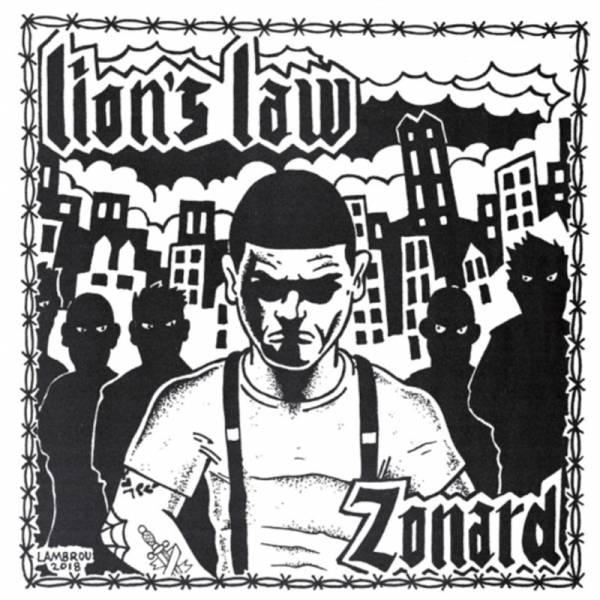 """Lion's Law - Zonard, 7"""" lim. 500 schwarz Lions Law"""