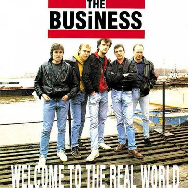 Business, The - Welcome to the real world, LP TAANG! Records schwarz