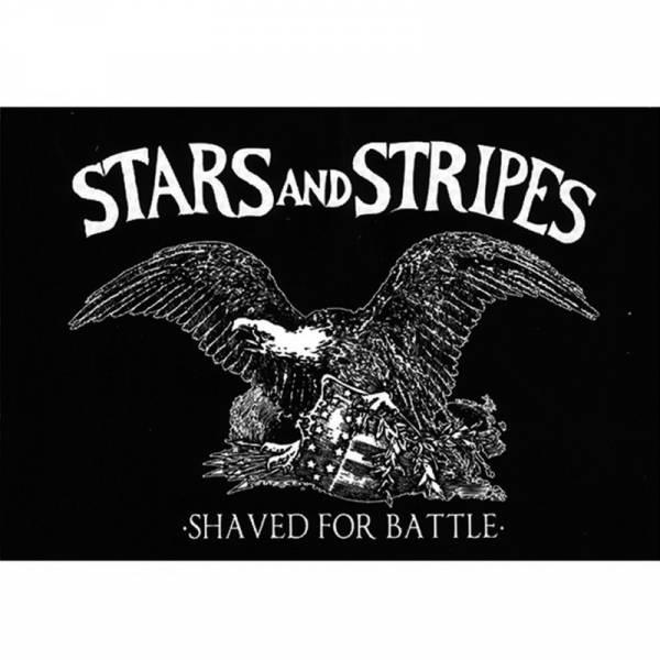 Stars and Stripes - Shaved for battle, Aufkleber