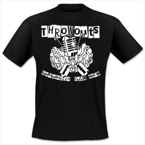 Throwouts, the - Logo, T-Shirt schwarz