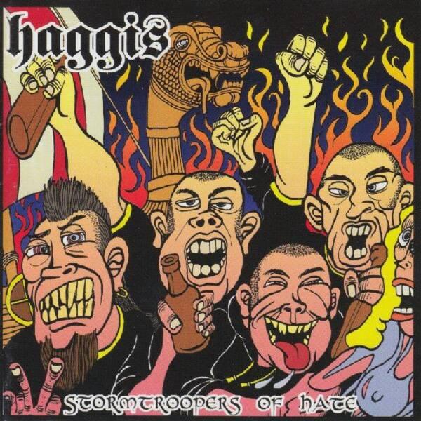 Haggis - Stormtrooper of Hate, CD