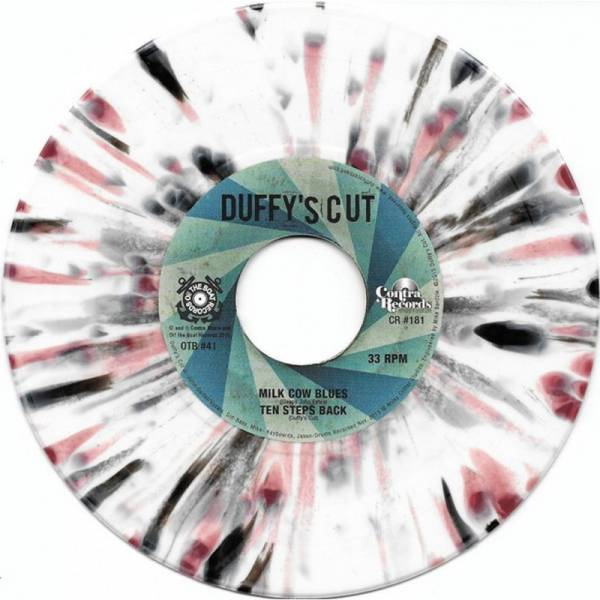 Idle Gossip, The / Duffy's Cut - Split, 7'' lim. 300 splatter