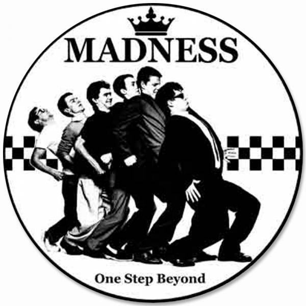 Madness - One Step Beyond, Aufkleber