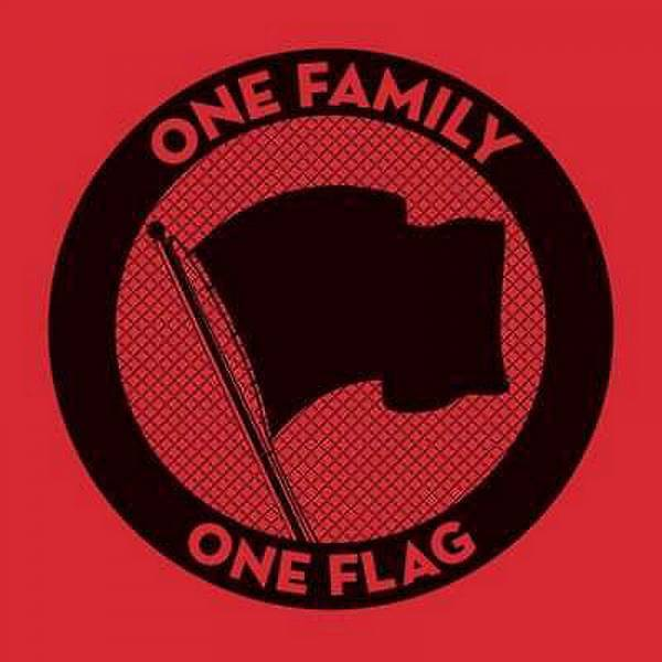 V/A One Family One Flag, 3 x LP lim. 4000 STANDARD VERSION