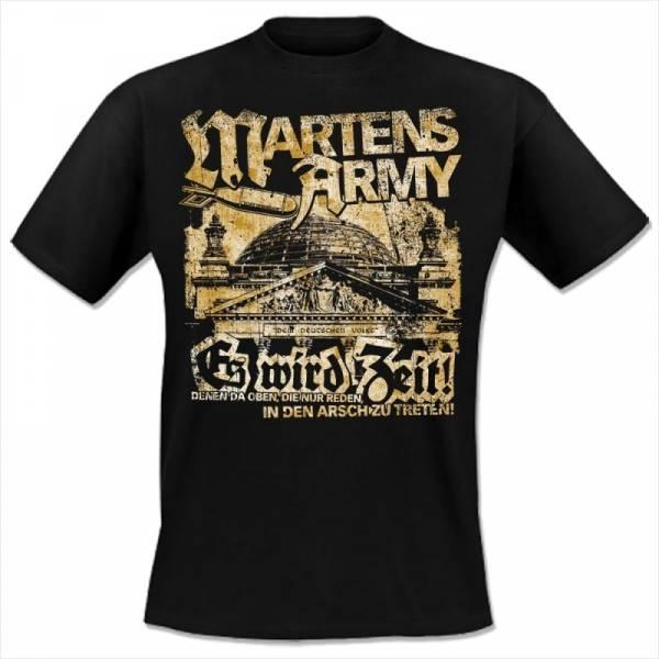 Martens Army - Es ist Zeit, T-Shirt