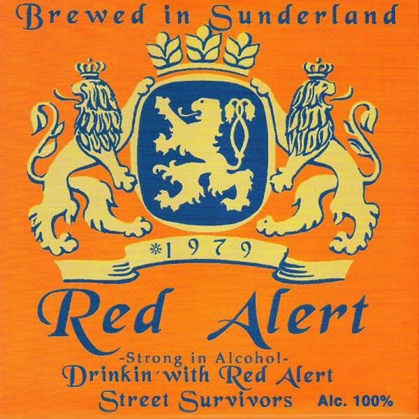 """Red Alert - Drinkin' with Red Alert / Street Survivors, Doppel 7"""", 1. Pressung lim. verschiedene Fa"""