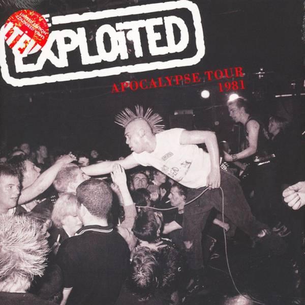 Exploited - Apocalypse Tour 1981, LP rot, lim. 500 Gatefold