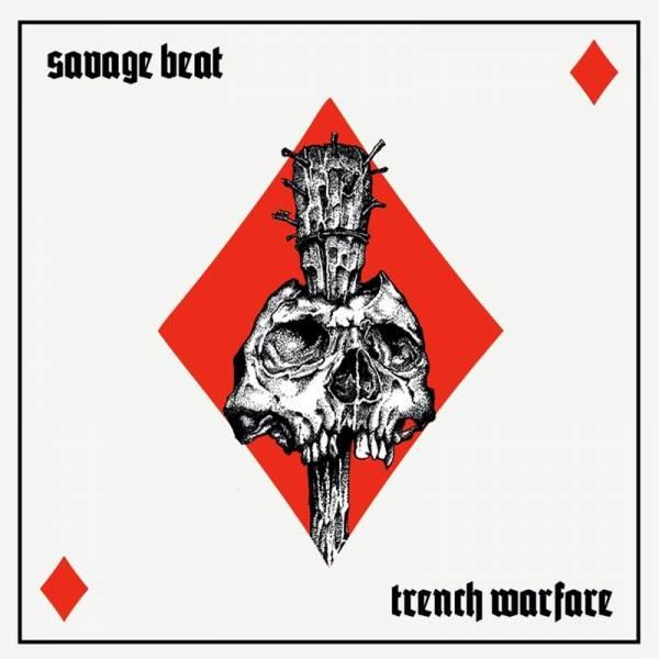 """Savage Beat - Trench warfare, 12"""" lim. 300 schwarz"""