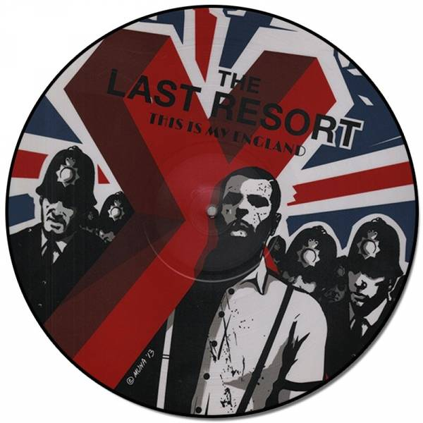 Last Resort, The – This Is My England - Skinhead Anthems III, LP Picture + Poster