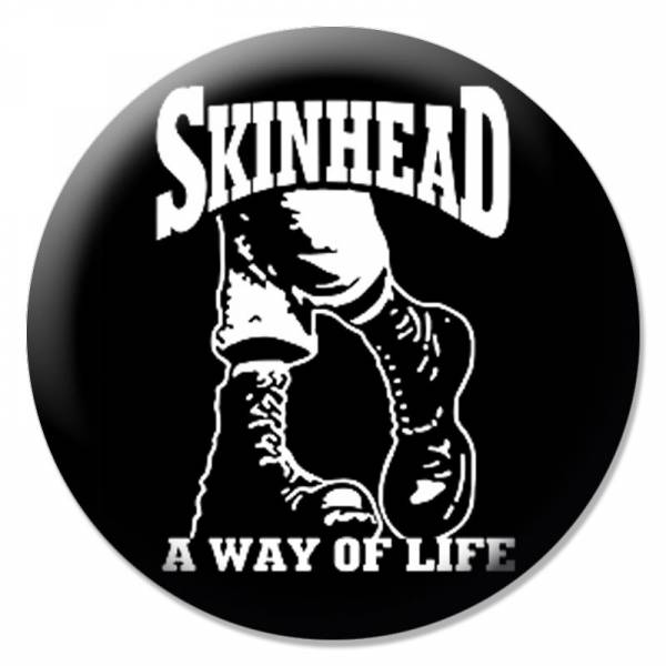 Skinhead - A way of Life Boots, Button B110