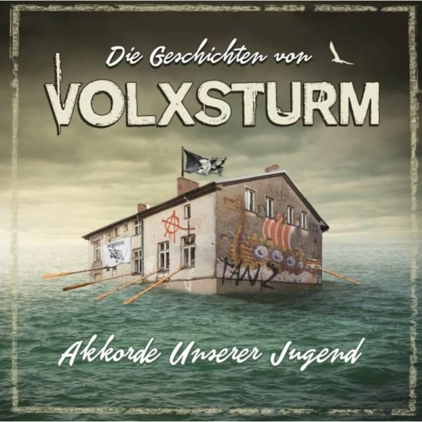 Volxsturm - Die Geschichten von Volxsturm - Akkorde unserer Jugend DoLP Trifolder vers. Farben