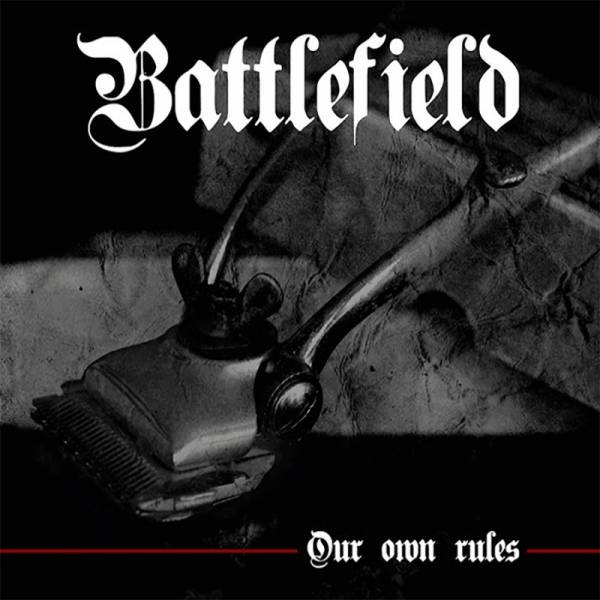 "Battlefield ‎– Our own rules, 12"" lim. 100 weiss"