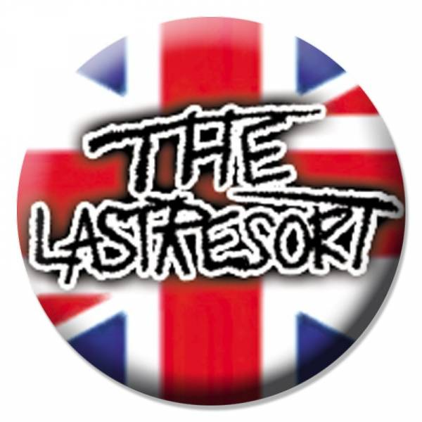 Last Resort - Union Jack, Button B062