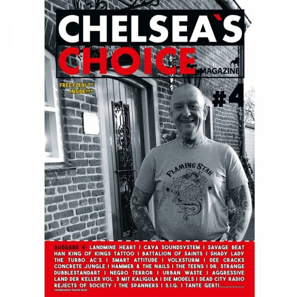 Chelsea's Choice No. 4, Fanzine A4 + FLEXI