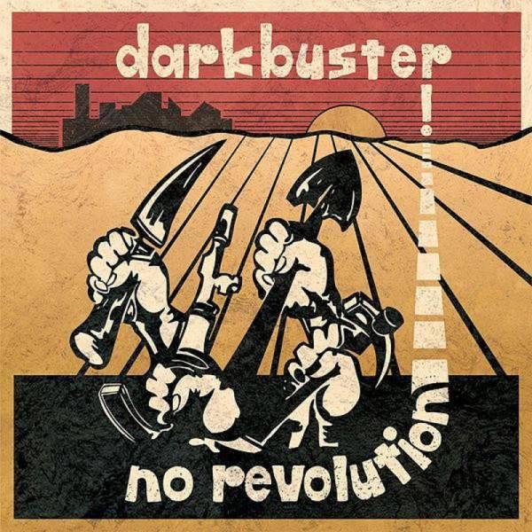 Darkbuster - No Revolution, Aufkleber