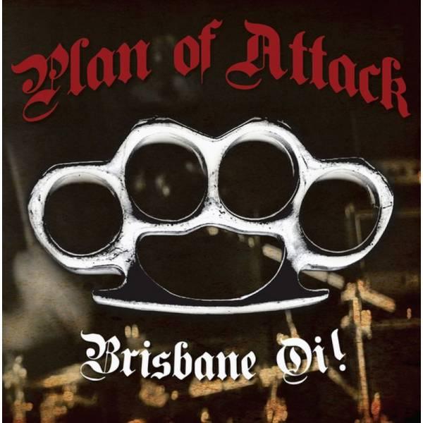 Plan of Attack - Brisbane Oi!, 7'' lim. beer splatter