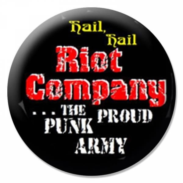 Riot Company - Punkarmy, Button B098