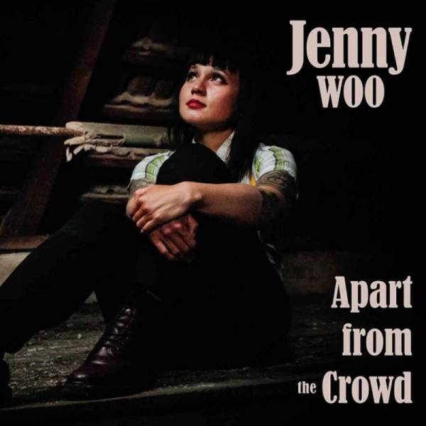 Jenny Woo - Apart from the Crowd, 7'' schwarz