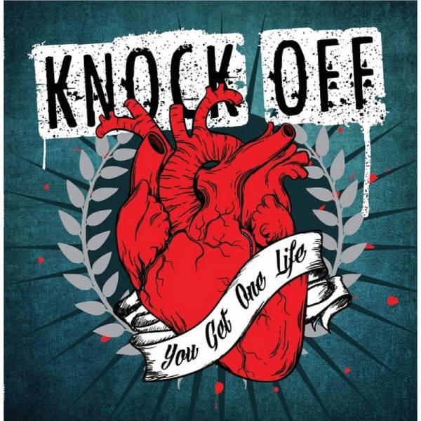 Knock Off - You get one life, LP lim. 500 verschiedene Farben