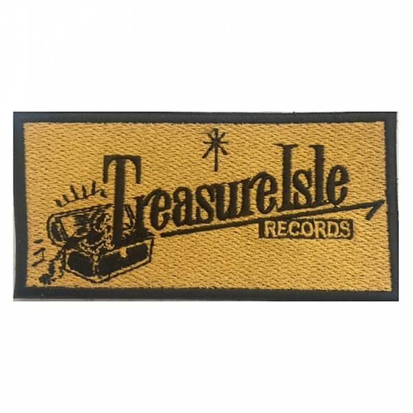 Treasure Isle Records - Logo, Aufnäher