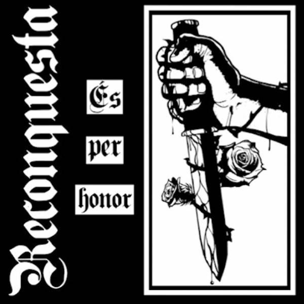 "Reconquesta - Es per honor, 7"" lim. 300 schwarz"