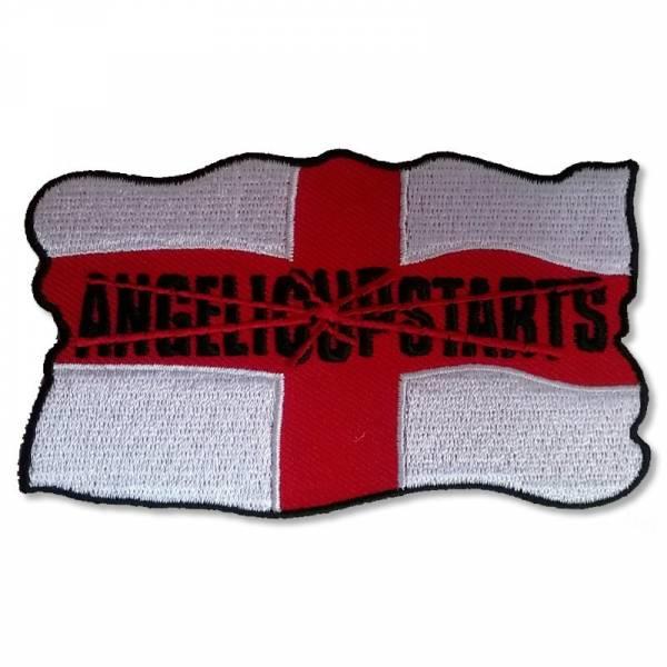 Angelic Upstarts - England, Aufnäher